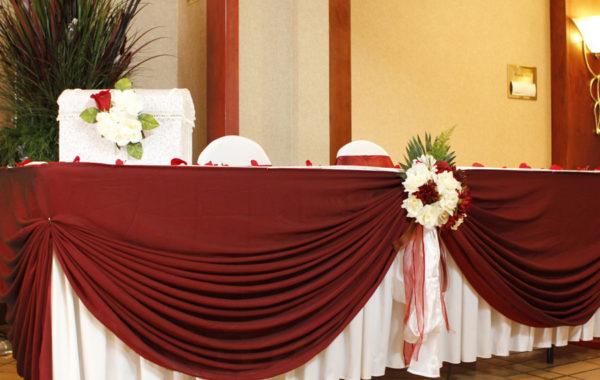 Свадебный стол 0003